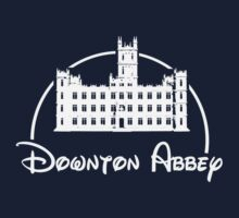 Downton Abbey / Disney //all white artwork// Kids Clothes