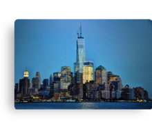 Freedom Tower at Night Canvas Print