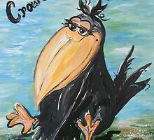 Crow's Feet - Not Wrinkles! by EloiseArt