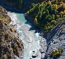 Shotover River Gorge by phil decocco