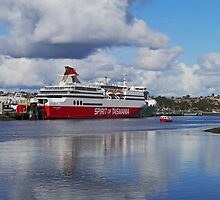 Spirit of Tasmania 11, Devonport, Tasmania, Australia by Margaret  Hyde