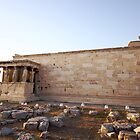 The Erechtheum, Acropolis, Athens 421-405 BC  by kateabell
