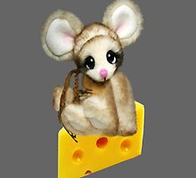 ✿♥‿♥✿LITTLE NIBBLES MOUSE ON CHEESE IPAD CASE✿♥‿♥✿  by ╰⊰✿ℒᵒᶹᵉ Bonita✿⊱╮ Lalonde✿⊱╮