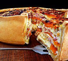 Sweet Potato & Bacon Pie by David Mellor