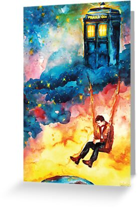 "Doctor Who - ""The Man Who Lived On A Cloud"" by Farbenfrei"