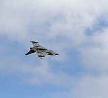 The Thyphoon at Airbourne in Eastbourne by Keith Larby