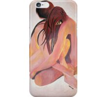 Intimate Couple Hugging and Staying In Touch  iPhone Case/Skin