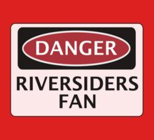 DANGER BLACKBURN ROVERS, RIVERSIDERS FAN, FOOTBALL FUNNY FAKE SAFETY SIGN by DangerSigns
