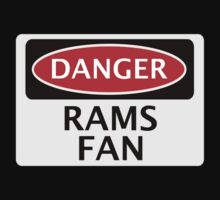 DANGER DERBY COUNTY, RAMS FAN, FOOTBALL FUNNY FAKE SAFETY SIGN by DangerSigns