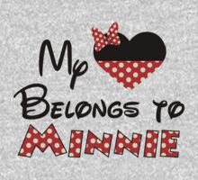 My heart belongs to Minnie Mouse by sweetsisters