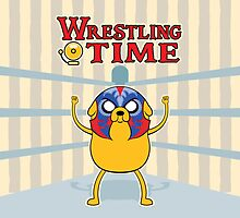 Wrestling Time by enriquev242
