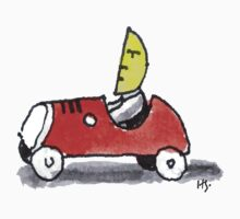 Monnman drives his Car by theshirtshops