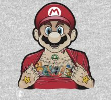 Mario's Got Ink by Kevin Peloquin