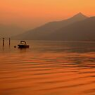 Lake Como sunset by Gary Power