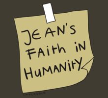 Jean's Faith in Humanity by chocoboco