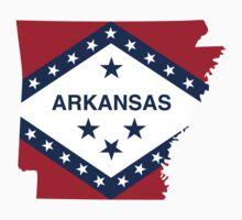 Arkansas | Flag State | SteezeFactory.com by FreshThreadShop