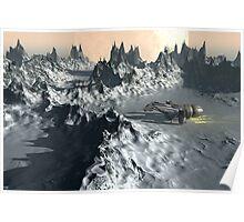 Ice Planet Twilight Poster