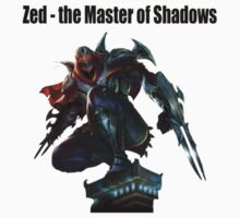 Zed - the Master of Shadows by OkaNieba