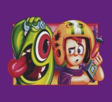 Oldies Commander Keen - Retro DOS game fan shirt by hangman3d