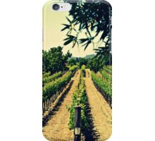Vineyards 3 iPhone Case/Skin