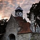 Beaulieu at sunset by Richard Hepworth