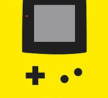 Old School Game Boy Color Yellow for iPhone & Poster by alish