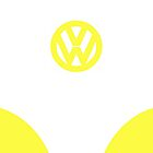 VW Van Yellow [IPhone Case] by Ilcho Trajkovski