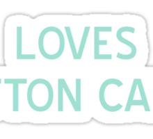 Loves Cotton Candy T-Shirt - CoolGirlTeez Sticker