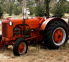 Vintage Case Tractor by rjorg