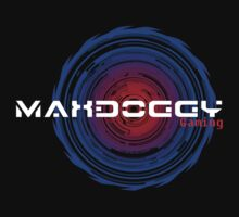 Maxdoggy Gaming - White Text by Maxdoggy