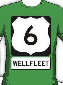 US 6 - Wellfleet Massachusetts T-Shirt
