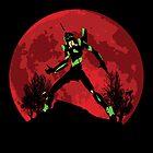 Neon Genesis Evangelion Unit 01 - Hill Top by KAMonkey