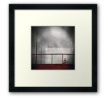 Trapped Within Myself Framed Print
