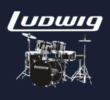 Ludwig Drum - Ludwig Musser by BlackWater