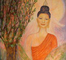 Buddha by Lilaviolet