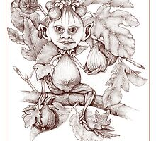 SPIRITS OF NATURE: My Figgy Friend by Kathleen Dupree