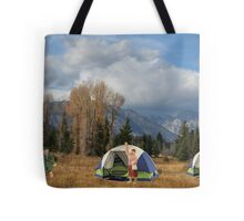 This damn hearing aid….I thought you said our relationship was going to be INTENSE!! Tote Bag