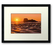 Perranporth Sunset Framed Print