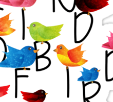 What kind of bird are you? Sticker