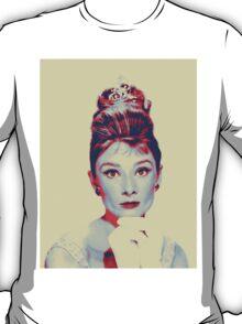 Audrey Hepburn in  Breakfast at Tiffany's T-Shirt