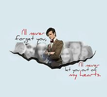 The Doctor and his Companions by angelbobwhovian