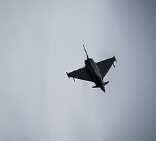 The Eurofighter Typhoon at Eastbourne Airbourne show by willgudgeon