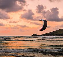 Lone Kite Surfer by JEZ22