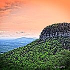 Sunset On The Knob (HDR) by Jeff Ore