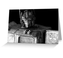Tough Day In The Office - BW Greeting Card