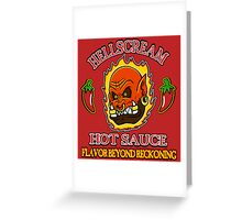 Hellscream Hot Sauce Greeting Card