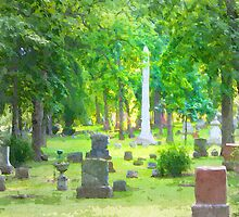 Summer Cemetery by Phil Perkins