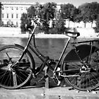 Bicycle by The Seine by thisisanton