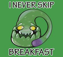 I never skip breakfast! by Sabstar