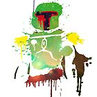 Ink Boba Fett by Cookiecutter60